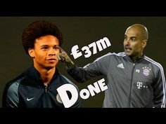 Leroy Sane hails new boss Pep after completing move to Manchester C. Bbc Sport Football, Football Players, Transfer News, Manchester City, Boss, Youtube, Sports, Soccer Players, Hs Sports