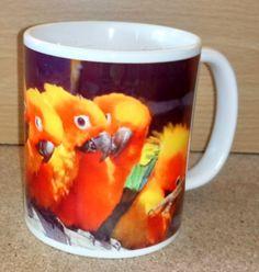 Sun Conure Parakeets Coffee Mug Conure, Parakeets, Parrot, Coffee Mugs, Sun, Gifts, Parrot Bird, Presents, Parakeet