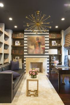 Living room design by Michel Boyd
