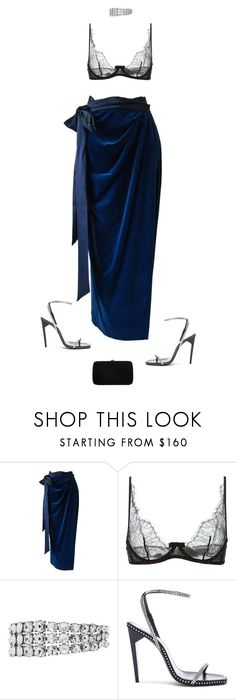 """""""reintentarlo"""" by andy993011 on Polyvore featuring Versace, Maison Close, Oscar de la Renta, Yves Saint Laurent and Sergio Rossi"""