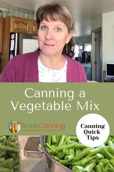 How to can vegetables in a mix of your choice. Learn the appropriate way to combine different vegetables in home canning. Canning Tips, Home Canning, Canning Recipes, Canning Pressure Cooker, Pressure Cooking, Canning Vegetables, Fresh Vegetables, Easy Dinner Recipes, Easy Meals