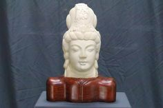 Guanyin Bust. Draper Vollbracht Provenance for auction. This is a gorgeous bust of Guanyin in a custom stand. It is worthy of attention just because of that.  What makes this piece special is who bought it, when and where.  It was originally sourced by Carleton Varney, president of Dorothy Draper & Company. Carleton Varney is one of the most well known designers of the second half of the 20th century and Dorothy Draper is one of the longest operating design firms in the country. We know that… Town And Country Magazine, Guanyin, The New Yorker, Fashion Labels, Design Firms, Two By Two, Auction, Designers, Sculpture