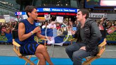 VIDEO: Josh Hutcherson on Good Morning America to talk about the movie. Personally, my favorite part is his reaction to his face being on pillowcases!
