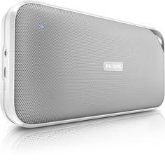 Muziek door je speaker. Genieten van de lekkerste muziek door het hele huis 5x Bluetooth speaker van Philips t.w.v. €79,99