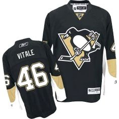 Joe Vitale jersey-80% Off for Reebok Joe Vitale Authentic Men's Jersey - NHL Pittsburgh Penguins #46 Black Home from official Reebok NHL Pittsburgh Penguins Shop. Same Day Free Shipping all the time, hurry to order it.