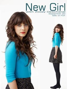 Jessica Day, played by Zooey Deschanel. I'd like to marry a Girl with THAT personality (and her eyes either); so f%&%ing amazing!