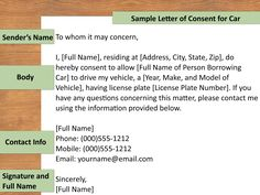 Letter Inside Appealing Authorization For Child Travel Consent Minor Doc Parental Work