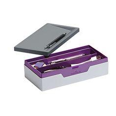 Innovative mobile Sammelbox Varicolor von Durable mit schließendem Deckel für ein Höchstmaß an Flexibilität. Ergonomisch und funktional. Mit innenliegender Fächerschale. Zur Aufbewahrung von Kleinutensilien, wie Ladekabel für Tablet-PCs und Smartphones, Stecker, Laserpointer, Stifte, Post it, Textmarker, SD-Karten - der optimale Organizer für das Büro. #violet #purple Smartphones, Post, Organizer, Mobiles, Office Supplies, Shopping, Plugs, Highlighter Pen, Pens