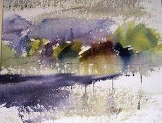 Gus Harrison - Watercolour Artist by Chalk Gallery