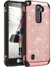 LG Stylo 2 Case, LG Stylus 2 Case, BENTOBEN Glitter Bling Luxury 2 in 1 Hybrid S