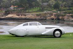 1938 Hispano-Suiza H6C Saoutchik Xenia Coupe