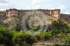 Chilojo cliffs in Gonarezhou National Park - Zimbabwe.