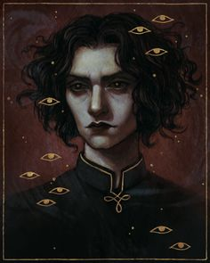 Art of Caroline Jamhour Dark Fantasy Art, Dark Art, Character Portraits, Character Art, The Villain, Character Design Inspiration, Pretty Art, Aesthetic Art, Cool Drawings