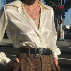 Lovely outfit idea to copy ♥ For more inspiration join our group Amazing Things ♥ You might also like these related products: - Pants ->. Look Fashion, 90s Fashion, Korean Fashion, Fashion Outfits, Womens Fashion, Fashion Trends, Moda Grunge, Moda Ulzzang, Looks Style