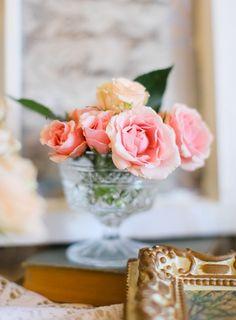 lace, retro, pastel, vintage , centerpieces, decor, flowers, reception, table, wedding, pink, Oklahoma City, Oklahoma