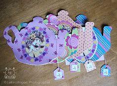 Cute ideas for a little girls' tea party!  :)