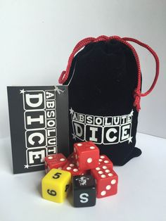 The Ultimate Dice Game in an accessible format for everyone to enjoy. Absolute Dice Original comes in a lovely velvet pouch with a drawstring closure, lightweight and ideal to slip into a bag or pocket for travel or holidays. No complicated rules or special score sheets required. It's easy, if you can count, you can play. Have Fun.
