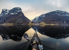 Phenomenal Shots of Norway's Fjords from the Stunning Perspective of a Kayaker - My Modern Met