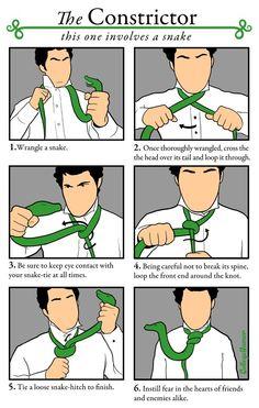 Fashion statement knots