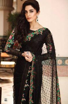 Beautiful Maria b Chiffon Saree Collection Master Replica 2020 - Master Replica Wholesale Pakistani Dresses, Indian Dresses, Indian Outfits, Shadi Dresses, Eid Dresses, Dresses 2016, Pakistani Suits, Pakistani Bridal, Indian Sarees