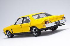 1 18 1974 Holden HJ Monaro GTS Sedan Absinth Yellow | eBay