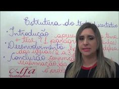Redação - Texto Dissertativo Argumentativo - Parte 1  - Estrutura de um ...