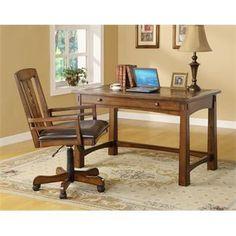 Craftsman Home Writing Desk | Riverside Furniture