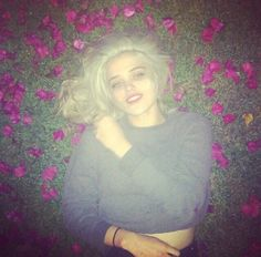 I found Lizzie asleep in a field at midnight - Taken by Nikki