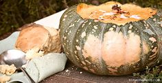 Natasha Sahashi's Style Blog What Makes You Happy ?!  : CHEF KATE'S PUMPKIN 'PIE' HARVEST SOUP WITH PUMPKI...