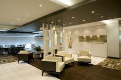 Reception. Green Shield Canada Office Interiors. 24,000 sq.ft. 2009. Designed by SDI Interior Design.