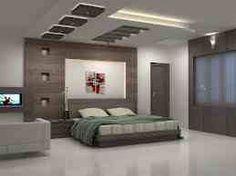bedroom wall & false ceiling