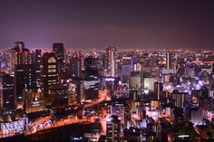 View from Umeda Sky Building, Osaka