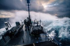 "855 Likes, 23 Comments - Simon Ager (@simonagerphotography) on Instagram: ""Photo by @simonagerphotography // The Sea Shepherd vessel @mybobbarker pounds through heavy seas…"""