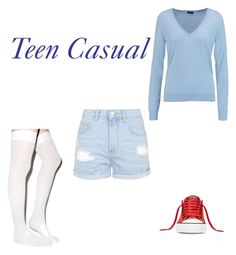 """""""GOT7 Junior Magazine Inspired Outfit"""" by kittykatadams on Polyvore featuring Joseph, Topshop and Converse"""
