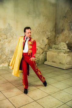Toreador   Dance   Actor: Alexey Molyanov   www.AlexeyMolyanov.com   Business queries : mail@alexeymolyanov.com Red Leather, Leather Jacket, Sari, Actors, Jackets, Fashion, Studded Leather Jacket, Saree, Down Jackets