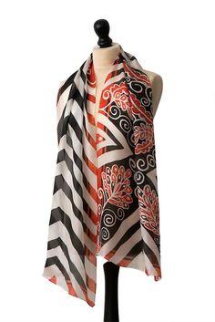 Floral Directions scarf – Arati Devasher