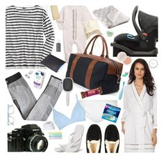 """""""Hospital Bag Packing!"""" by cutandpaste ❤ liked on Polyvore featuring Burberry, J.Crew, Oscar de la Renta, UGG Australia, Hotmarzz, Blue Claw Co., Topshop, Nikon, Pantos and FOREO"""
