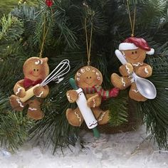 Baker's Ornaments / She'll love them.