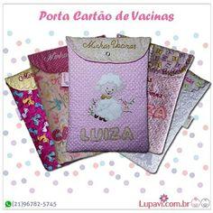 Porta Cartão de Vacinas lindos e personalizados para guardar os documentos de vacinação e consulta médica. Customizamos em vários temas e estampas ❤  www.lupavi.com.br/porta-cartao-de-vacinas WhatsApp (21)96782-5745  #LupaviPatchwork #PortaCartãoDeVacinas #CartãoDeVacinas #CadernetaDeVacinas #documentos #exames #infantil #menina #princesa #artesanato #cudtomizado #personalizado #patchwork #temas #estampas #CompreOnline #encomendas #Lupavi