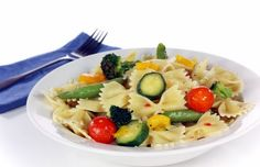 Healthy family dinner, Summer Vegetables Pasta - find recipe at CoachingWill.com