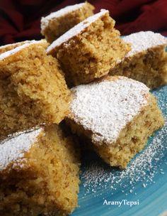 AranyTepsi: Egyszerű diós kevert Hungarian Desserts, Hungarian Cake, Hungarian Recipes, Sweet Cookies, Cake Cookies, Cookie Recipes, Dessert Recipes, Cherry Cake, Croatian Recipes