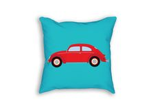 This VW Bug throw pillow is the perfect decor item for the classic car enthusiast in your life.