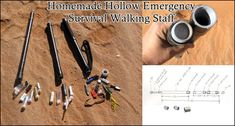 Homemade Hollow Emergency Survival Walking Staff The Homestead Survival - Homesteading - DIY Project Homestead Survival, Camping Survival, Emergency Preparedness, Survival Skills, Survival Food, Survival Tips, Woodworking Projects That Sell, Woodworking Workshop, Diy Woodworking
