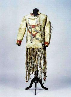 Costume shaman. The end of the XIX century. Evenki. The Irkutsk region. Kirensky county. Receipt of 1924 Kirenska seminary on the personal order of its director