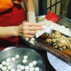第一次见#鱼丸 的做法 #fishball in #xiamen