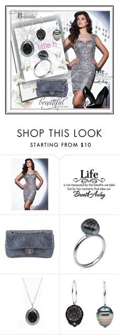"""""""Little h Jewelry"""" by lip-balm ❤ liked on Polyvore featuring Polaroid, Tony Bowls, Chanel, Pearl & Black, Dolce&Gabbana, pearljewelry and littlehjewelry"""