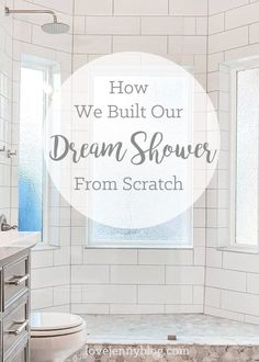 DIY Shower Renovation