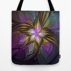 Abstract Art Tote Bag by gabiw Art.