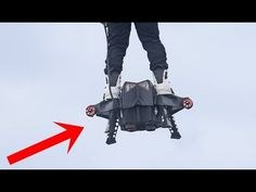 Flyboard® Air Farthest flight by hoverboard (achieved on 30th April 2016 by Franky Zapata) - YouTube