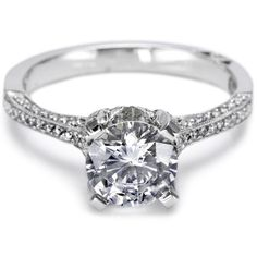 Tacori Pave Diamond Engagement Ring - #2561